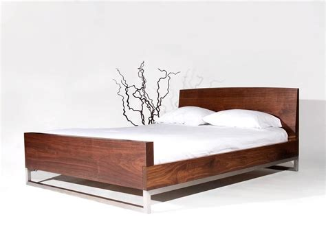 Wood Bed Frame Contemporary
