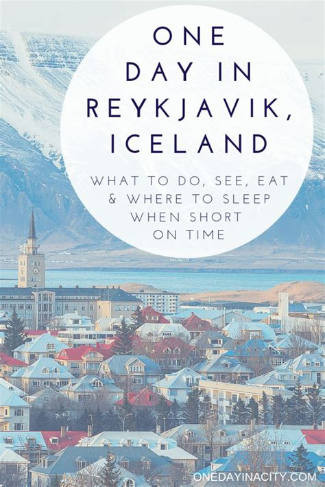 day reykjavik itinerary spending perfect day iceland