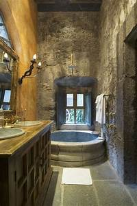 Stone bathroom i love thisi would feel like i39m in a for Dreams about bathrooms