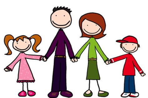 family clipart family holding free images at clker