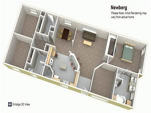 Home Remodeling : Double Wide Mobile Home Floor Plans 3d ...