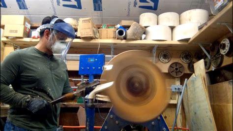 woodturning  grain  pine bowl part  starting
