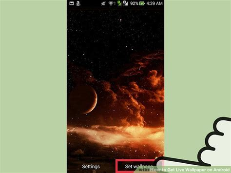 android no live wallpaper option how to get live wallpaper on android 15 steps with pictures