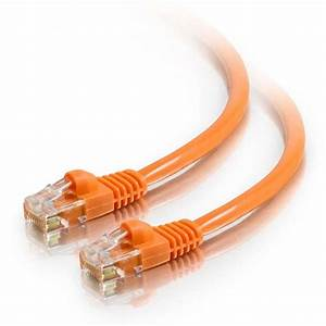 1ft Cat5e Crossover Snagless Ethernet Cable