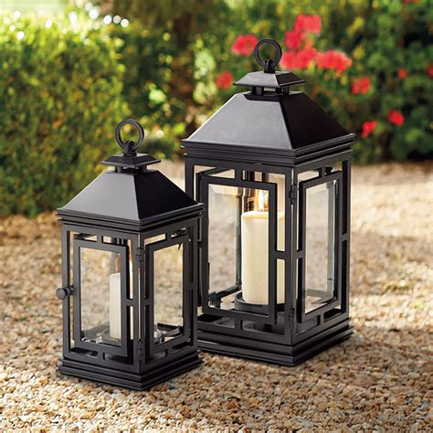 decorative outdoor lanterns lanterns outdoor lighting frontgate
