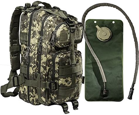 Small Tactical Military Army Backpack By Monkey Paks