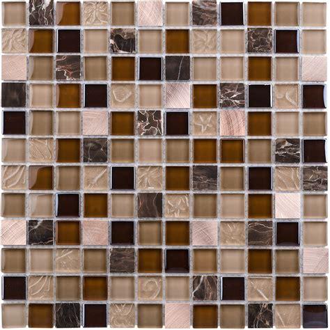 glass mosaic tile shop elida ceramica coral light squares mosaic
