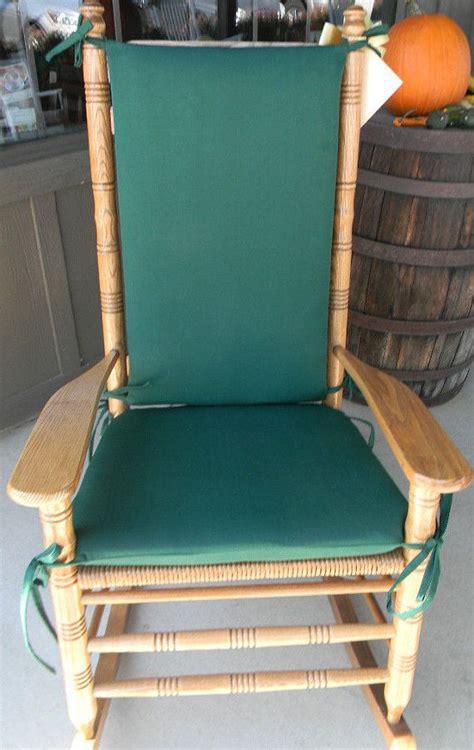 indoor outdoor rocking chair cushions fits cracker barrel rocker choose fabric solids