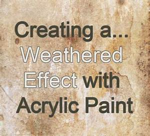 How To Create A Vintage Rust Aged And Crackle Effect