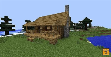 Cabin Minecraft Billybobjr S Hunting Cabin Minecraft Project