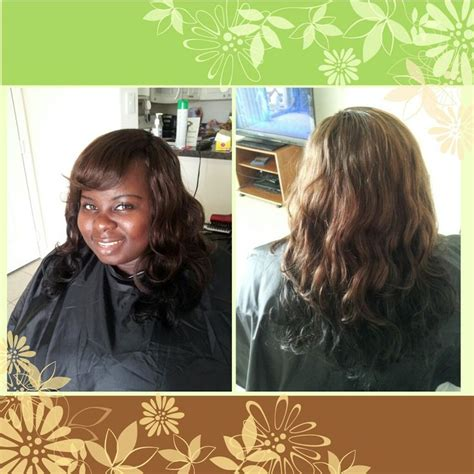 14 Inch Sew In Weave Hairstyles by Sew In Using 12 14 Inch Wave Hair In Color 1