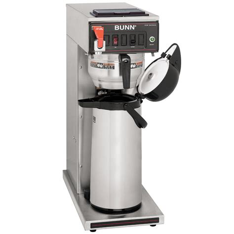 bunn 23001 0051 cwtf15 aps airpot brewer with gourmet funnel and water faucet 120v