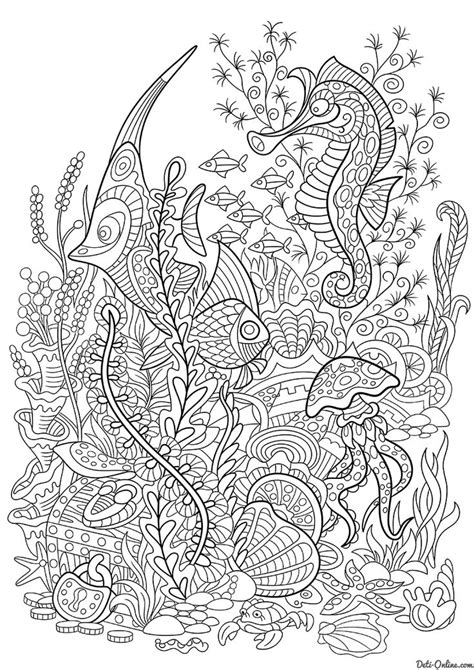 images    sea coloring pages