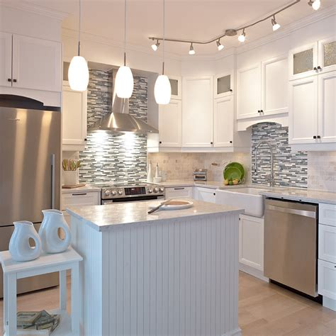 cuisine de r黐e cuisines beauregard cuisine réalisation 280 cuisine blanche en mélamine polyester