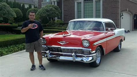 how can i learn about cars 1956 chevrolet corvette lane departure warning 1956 chevy bel air classic muscle car for sale in mi vanguard motor sales youtube