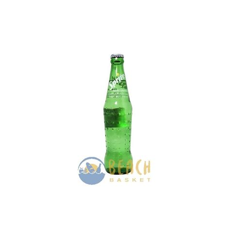 sprite oz glass bottle beach basket belize