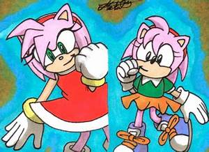 Sonic Generations: Amy by Metal-CosxArt on DeviantArt