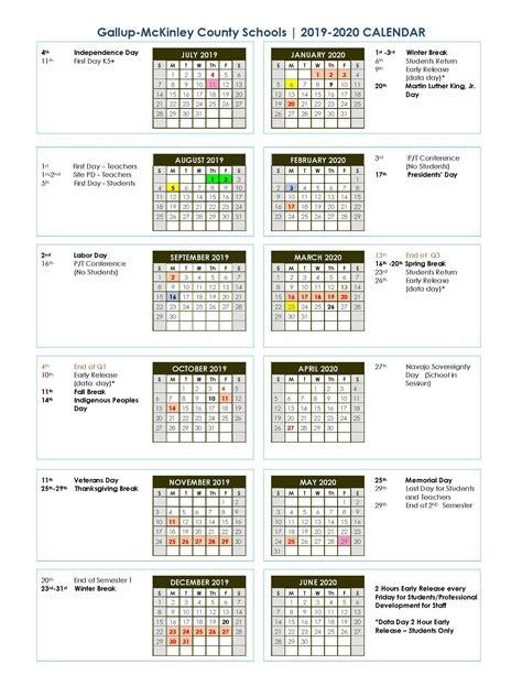 district school year calendargraduation parents gallup