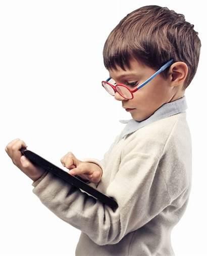 Ipad Children Digital Six Five Learning Screen