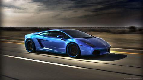 Black And Blue Car Wallpaper Hd by Black And Blue Lamborghini 23 Desktop Wallpaper