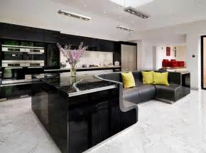 pre built kitchen islands kitchen island with built in sofa upgrades stylish home freshome