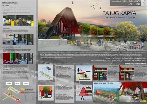 sayembara nasional arsitektur undip  sayembara ide