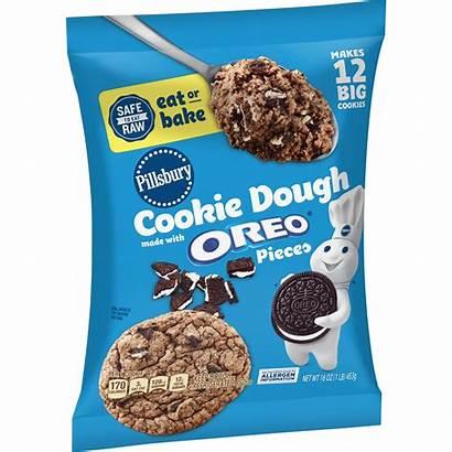 Pillsbury Oreo Cookie Dough Pieces Sugar Walmart