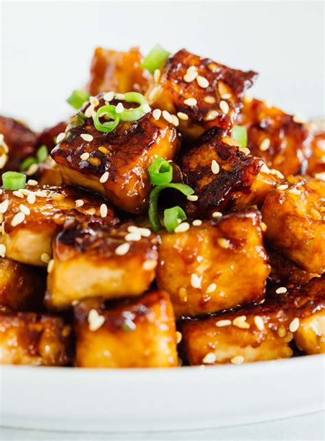 pan fried sesame garlic tofu tips for extra crispy pan