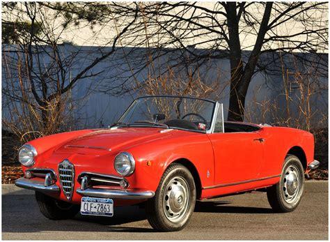 Alfa Romeo 1600 by 1962 Alfa Romeo Giulia 1600 Spider Italian Classic Cars