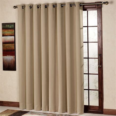 single panel curtain for sliding glass door home design