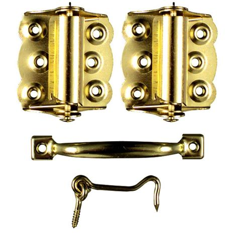 screen door hardware ideal security brass screen door hardware set sk922 the