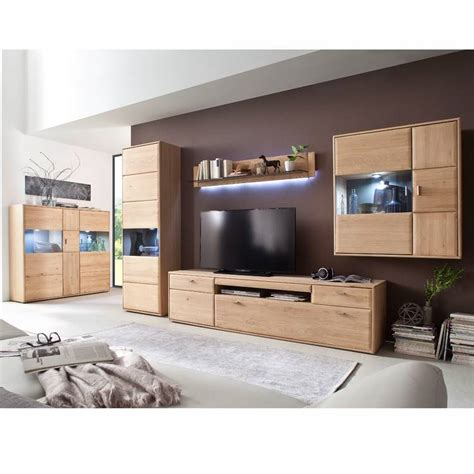 Möbel Selbst Zusammenstellen by Wohnzimmer M 246 Bel Serie Tijuana 05 Aus Massiver Eiche