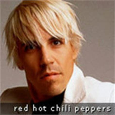 anthony kiedis blonde hair images frompo