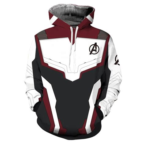 avengers  endgame advanced tech hoodie pullover casual