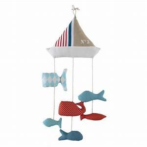 Maison Du Monde Lit Bebe : mobile b b en coton marin maisons du monde ~ Zukunftsfamilie.com Idées de Décoration