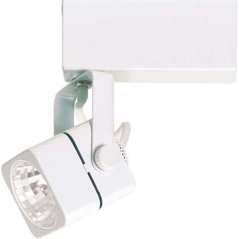 glomar 1 light mr11 12 volt white mini square track