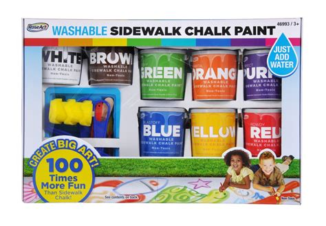washable sidewalk chalk paint big for everyone