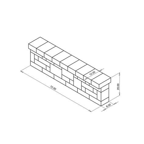 pillars seat walls basalite