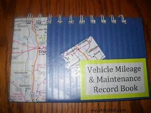 Automobile Maintenance Log Book How To Create A Vehicle Mileage And Maintenance Log Record