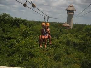 Cancun Mexico Zip Lining