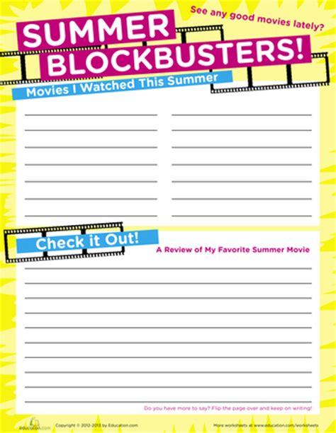 summer scrapbook 2012 printable workbook education
