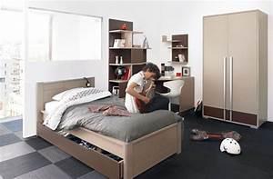 chambres et lits pour jeunes adolescents With chambre jeune homme design