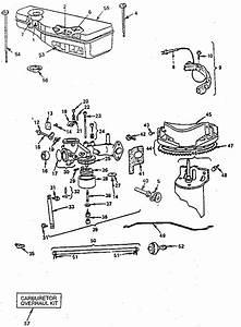 Carburetor Diagram  U0026 Parts List For Model 252707062501
