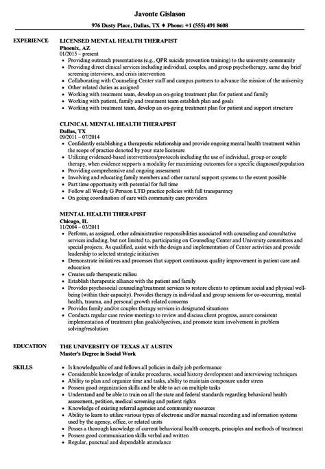 Therapist Resumes by Sle Counseling Resume Bijeefopijburg Nl