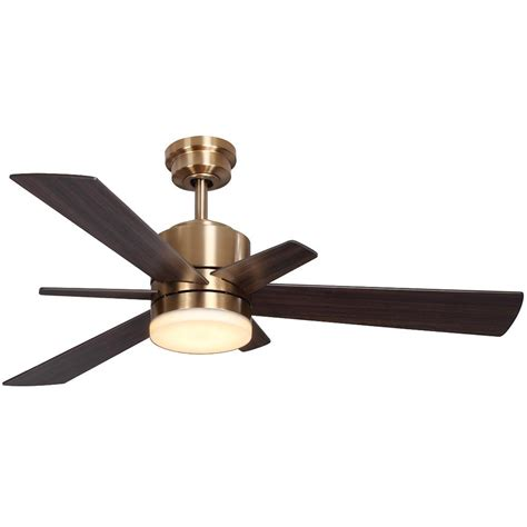 home depot ceiling fans with remote home decorators collection hexton 52 in led indoor
