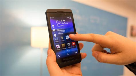 the blackberry 10 phone is exceptional but