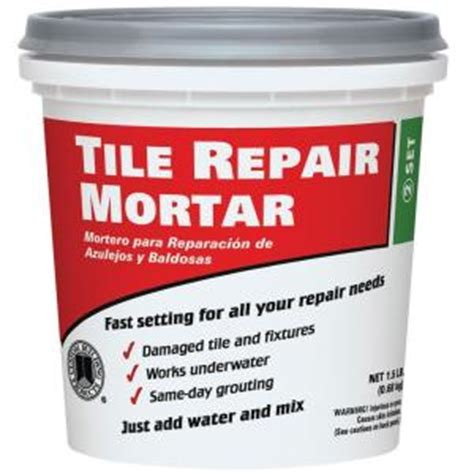 Premixed Tile Adhesive Vs Thinset by Replacing Broken Tiles In Shower The Home Depot Community