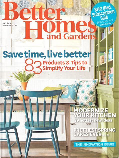 better home and gardens better homes and gardens magazine may 2014 save time live