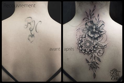 laurelarth tattoo tatoueur lyon tatouage orchidee mandala