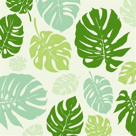 fondo con patr 243 n de hojas verdes vector gratis en fondo por johndory freepik ilustraci 243 n